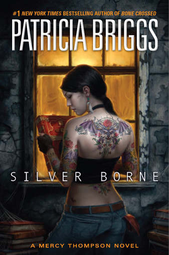 Cover Art: Silver Borne (Mercy Thompson book 5) by Patricia Briggs