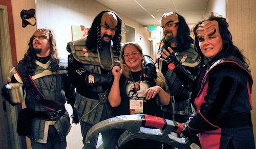 Patty and the Klingons